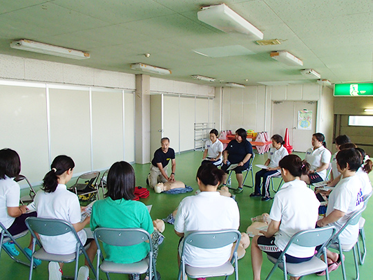 市民救命員養成講習会<CPR+AED>