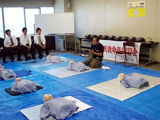 「救命・救急法講習会」と「エピペン®対応講習会」をセットにした講習会